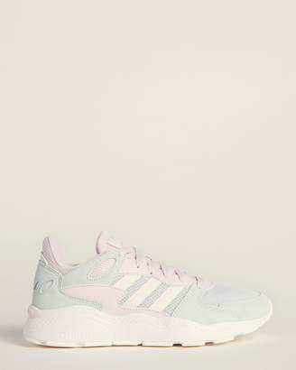 adidas Aero Blue & Cloud White Crazychaos Running Sneakers