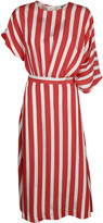 MSGM Denim Striped Dress
