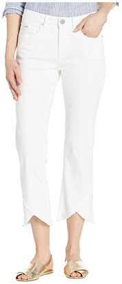 FDJ French Dressing Jeans Statement Denim Olivia Tulip Hem Flare Crop in White (White) Women's Jeans
