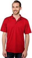 Tri-Mountain Men's Big And Tall Moisture Wicking Polo Shirt, _M