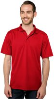 Tri-Mountain Men's Big And Tall Moisture Wicking Polo Shirt