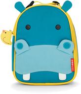 Skip Hop Turquoise & Light Blue Hippo Lunch Bag
