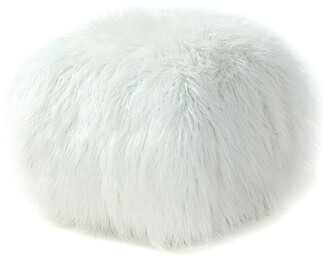 Pangea Lammy Square Cube Faux Fur