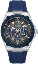 GUESS legacy navy silicone mens watch