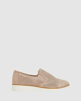 Easy Steps - Women's Nude Brogues & Loafers - Davis - Size One Size, 40 at The Iconic