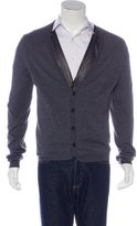 Valentino Knit V-Neck Cardigan w/ Tags
