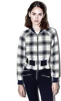 3.1 Phillip Lim Surf plaid bomber jacket