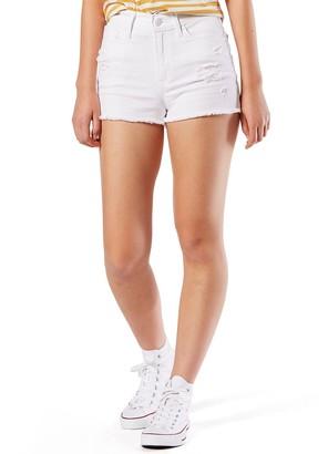 Denizen From Levis Juniors' DENIZEN from Levi's High Rise Shortie Shorts