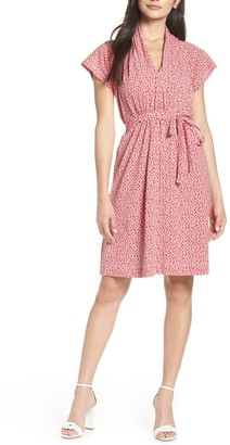 French Connection Elao Floral Jersey Dress