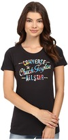 Converse At Once Bright Color Fill Tee
