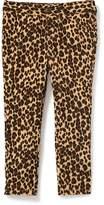 Old Navy Leopard-Print Ponte-Knit Pants for Toddler Girls