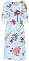 Carolina Herrera Floral cotton-blend dress