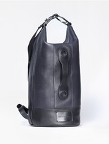 Calvin Klein Fleet Leather Sling Backpack
