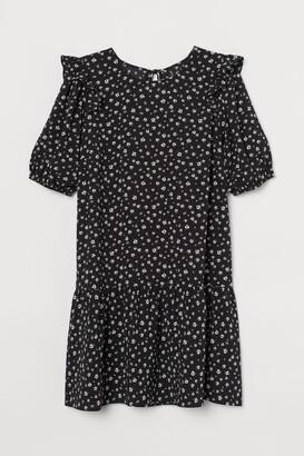 H&M H&M+ Short Dress - Black