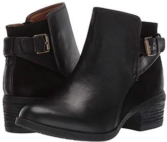 Comfortiva Creston (Black Wild Steer/Cow Suede) Women's Boots