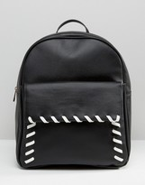 Asos Whipstitch Backpack