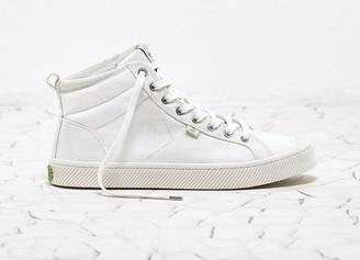 Cariuma OCA High Off White Canvas Sneaker Women