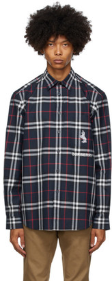 Burberry Navy Coleford Shirt