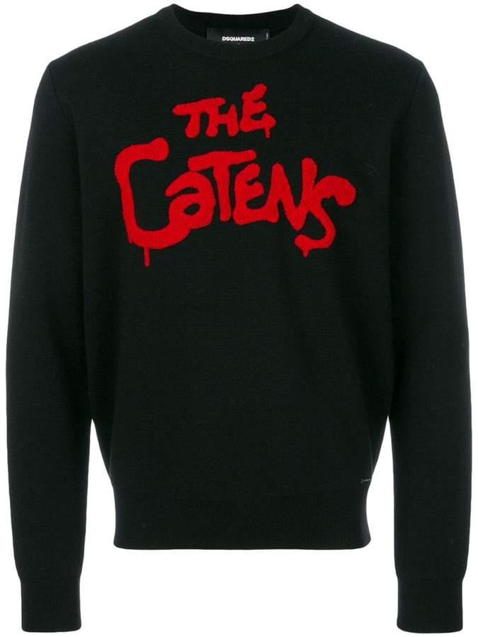 DSQUARED2 The Catens intarsia jumper