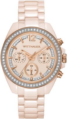Wittnauer Women's Ceramic Crystal Watch