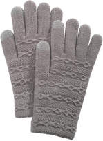 Steve Madden Cable-Knit iTouch Gloves