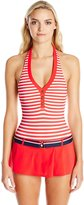 Tommy Hilfiger Women's Lake Side Halter Swim Dress