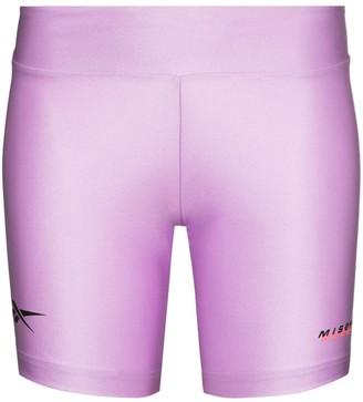 Misbhv x Reebok logo detail cycling shorts