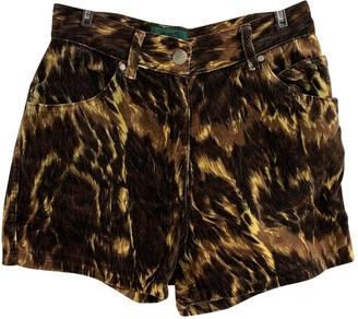 Jean Paul Gaultier Multicolour Shorts for Women Vintage