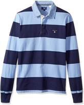 Gant Men's Long-Sleeve Bar Stripe Rugby Shirt