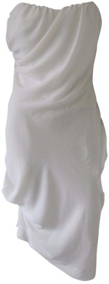 Vivienne Westwood White Silk Dress for Women