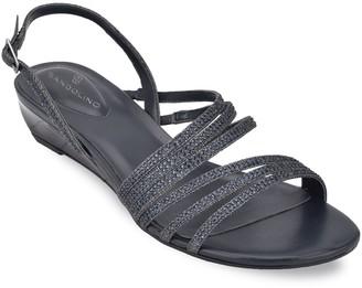 Bandolino Strappy Embellished Sandals - Tillya