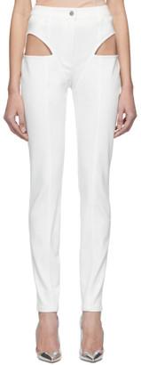 Kreist White Cut-Out Jeans