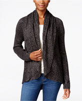 Karen Scott Shawl-Collar Open-Front Cardigan, Only at Macy's