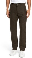 Billy Reid Men's Wool & Cashmere Slim Straight Leg Chinos
