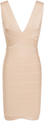 Herve Leger Lauren Bandage Mini Dress
