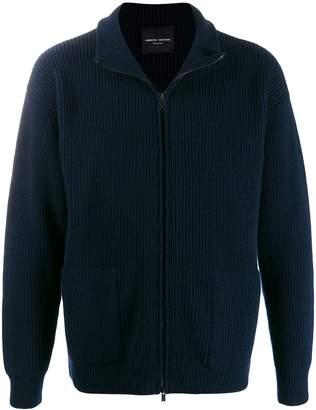 Roberto Collina zip-up knit cardigan
