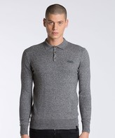 Superdry Orange Label Knitted Polo Shirt