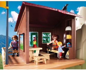 Playmobil 9126 Action Rock Climbers with Cabin