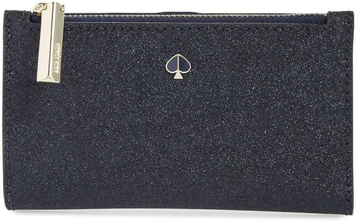 Kate Spade Burgess Court Glitter Wallet