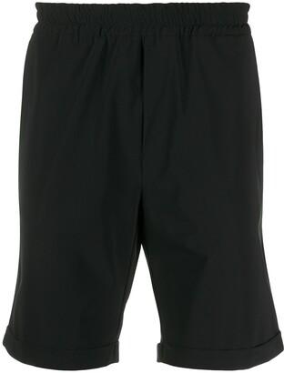 Hydrogen Turn-Up Cuff Elasticated Waist Shorts