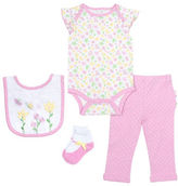 Chick Pea Four-Piece Deluxe Butterfly Bodysuit Set