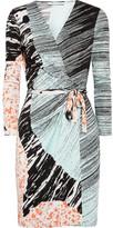 Diane von Furstenberg Valencia silk-jersey wrap dress