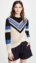 RED Valentino V Neck Sweater