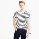 J.Crew Slub cotton deck-striped T-shirt