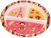 SugarBooger by O.R.E. Divided Suction Plate - Cupcake