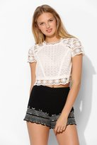 Urban Outfitters I.Madeline Bead-Trim Short
