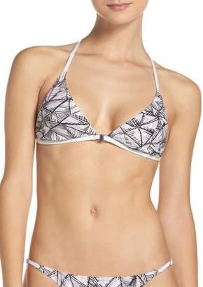Dolce Vita Printed Triangle Bikini Top