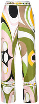 Emilio Pucci abstract print pyjama trousers - women - Silk - 38