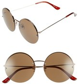 BP 55mm Rimless Round Sunglasses