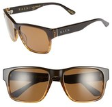 Raen Men's 'Yuma' 57Mm Polarized Sunglasses - Rye/ Brown